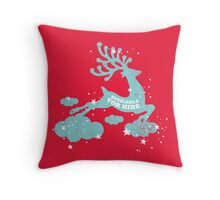 Available for hire Throw Pillow