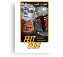 Fett Club (Orig.) Canvas Print