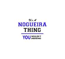 It's a NOGUEIRA thing, you wouldn't understand !! by thestarmaker