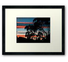 """""""Night Moves"""" Framed Print"""