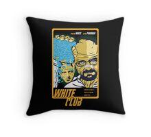White Club (Breaking Bad + Fight Club mashup) Throw Pillow