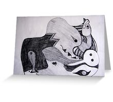 Doodle 2000 Greeting Card