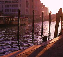 Typical Grande Canale Scene, Venezia by Valli  aka Frankiesgirl