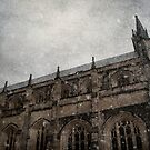 Winter Series Winchester Cathedral by Nikki Smith