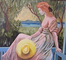 Lady on verandah (almost finishedversion) by michael51