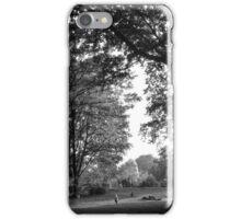Tiergarten - B&W iPhone Case/Skin