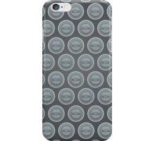 Ninja Turtle Sewer Lid Pattern iPhone Case/Skin