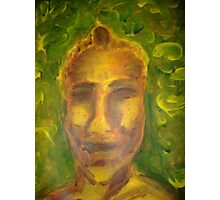Ian in Yellow (January 2008, Painting, Acrylic on paper) Alison B Allen Photographic Print