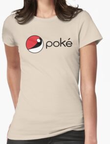 poké Womens Fitted T-Shirt
