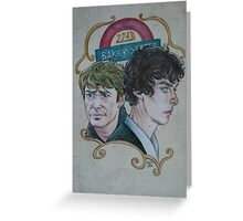 The Two of Baker Street Greeting Card