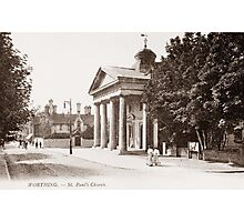 Ref: 06 - Chapel Road, Worthing, West Sussex. Photographic Print