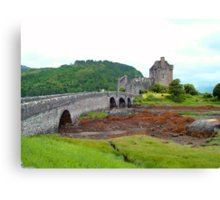 Eilean Donan Castle VII Canvas Print
