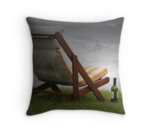 Musical Chairs, hic!!!! Throw Pillow