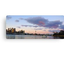 Awaiting The Dawn - Sydney Harbour, Sydney Australia Canvas Print