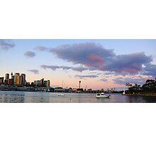 Awaiting The Dawn - Sydney Harbour, Sydney Australia Photographic Print
