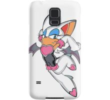 Rouge the Bat in Action Samsung Galaxy Case/Skin
