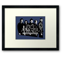 Angel Investigations: Angelic Glow Framed Print