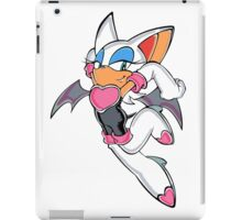 Rouge the Bat in Action iPad Case/Skin