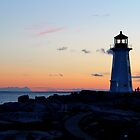 Peggy's Lighthouse by Kathleen Daley