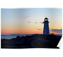 Peggy's Lighthouse Poster