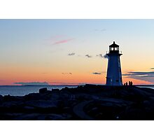 Peggy's Lighthouse Photographic Print