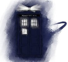TARDIS - Doctor Who by Eyda