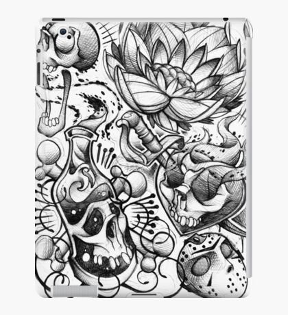 tattoo flash iPad Case/Skin