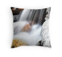 The Freezing Creek Throw Pillow