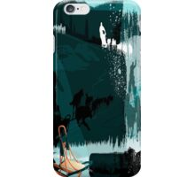 Dog Sledding iPhone Case/Skin