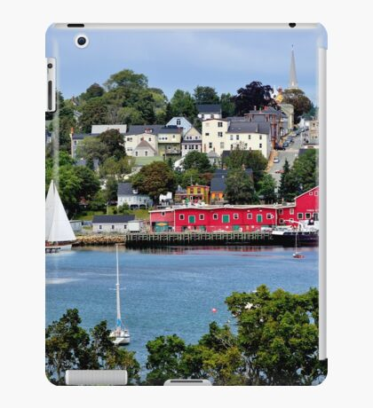 Summer in Lunenburg iPad Case/Skin