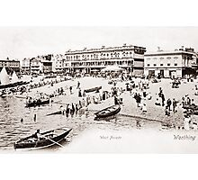 Ref: 18 - The Beach, Worthing, West Sussex. Photographic Print