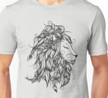 Poetic Lion B&W  Unisex T-Shirt