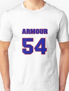 National football player Phil Armour jersey 54 T-Shirt