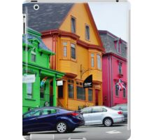 The Colourful Side of Lunenburg iPad Case/Skin