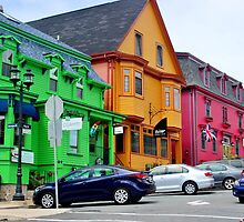 The Colourful Side of Lunenburg by Kathleen Daley