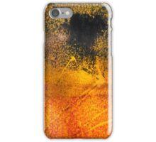 Grasses under dark cloud iPhone Case/Skin