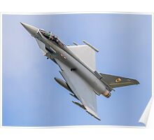 Royal Air Force Typhoon of N01 Squadron Poster