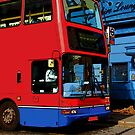 Bus in London by fuxart