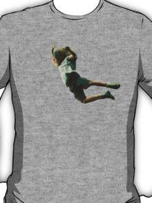 Eddie's epic stage dive. Amazing vectorial design! T-Shirt