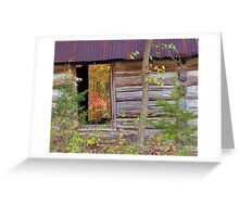 ~Window Into The Past~ Greeting Card