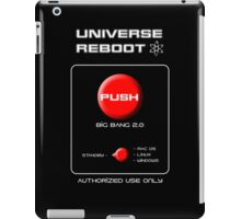 Universe Reboot iPad Case/Skin