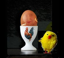 The Egg and I by Gilberte