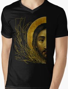 Russian icon  Mens V-Neck T-Shirt