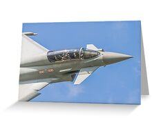 RAF Typhoon Crew Greeting Card