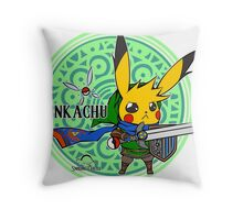 Linkachu - Hyrule Warriors Throw Pillow