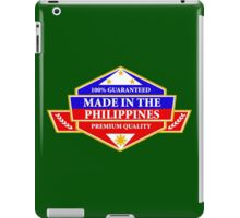 Made in the Philippines iPad Case/Skin