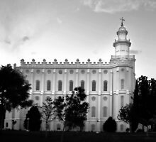 St.George LDS Temple by Ryan Houston