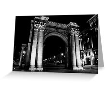 Union Station Arch, Columbus, Ohio Greeting Card