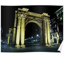 Union Station Arch, Columbus, Ohio Poster
