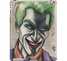 Joker in Ink and Watercolor iPad Case/Skin
